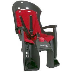Hamax Siesta siodełko dla dziecka bagażnik, szary/czerwony 2021 Mocowania fotelików Przy złożeniu zamówienia do godziny 16 ( od Pon. do Pt., wszystkie metody płatności z wyjątkiem przelewu bankowego), wysyłka odbędzie się tego samego dnia.