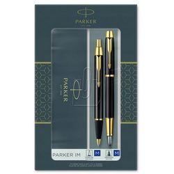 Zestaw Parker IM Black GT pióro+długopis 2093216