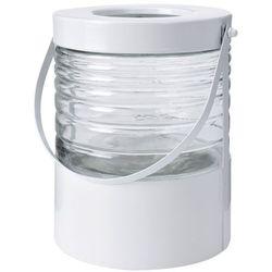 Metalowy lampion LATARNIA - okrągła latarenka