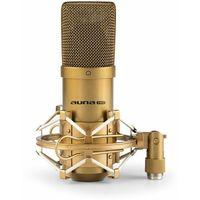 Mikrofony, Auna MIC-900G mikrofon pojemnościowy nerka studio złoty