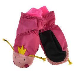 Dziecięce rękawiczki narciarskie Scorpio - Różowy