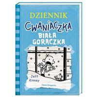 Literatura młodzieżowa, Dziennik cwaniaczka biała gorączka - jeff kinney (opr. broszurowa)