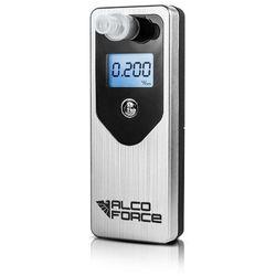 Alkomat AlcoForce EVO Srebrny - Elektrochemiczny + 12 miesięcy kalibracji GRATIS