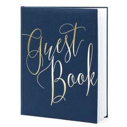 Księga gości weselnych Guest Book granatowa - 22 kartki