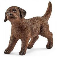 Figurki i postacie, Labrador retrieve szczeniak SLH13835 - Schleich