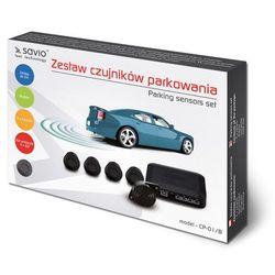 SAVIO Czujnik parkowania, buzzer Savio CP-01/B, czarny