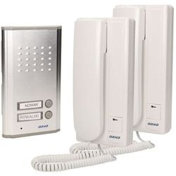 Zestaw domofonowy ORNO DOM-RL-903 Fossa Multi dwurodzinny + DARMOWY TRANSPORT!