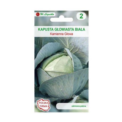 Nasiona, Kapusta głowiasta biała KAMIENNA GŁOWA nasiona tradycyjne 2 g W. LEGUTKO