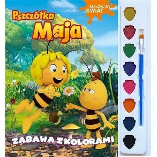 Książki dla dzieci, Pszczółka Maja. Malowany świat. Zabawa z kolorami Praca zbiorowa (opr. broszurowa)