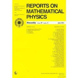 Reports on Mathematical Physics 67/3 (opr. miękka)