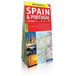 Hiszpania i Portugalia see you! inn papierowa mapa samochodowa 1:1 mln (opr. miękka)