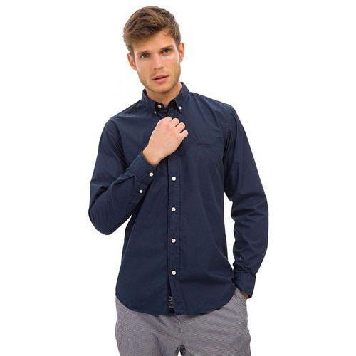 Koszule męskie, Galvanni koszula męska Caddo XL ciemnoniebieska