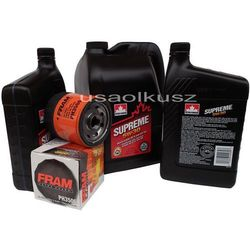 Olej 5W30 oraz filtr oleju silnika Chevrolet TrailBlazer 2003-2006