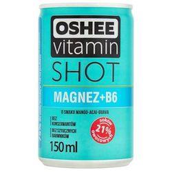 OSHEE 150ml Vitamin Shot Magnez + Vitamina B6