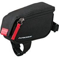 Sakwy, torby i plecaki rowerowe, Torebka KROSS Jelly Bag czarny