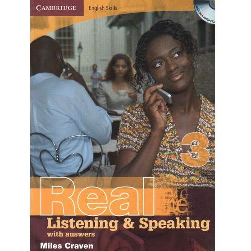 Książki do nauki języka, Cambridge English Skills Real Listening & Speaking 3 Paperback with Answers and Audio CDs (2) (opr. miękka)