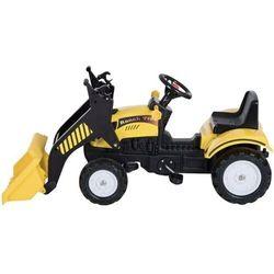 Koparka ładowarka z łychą Traktorek