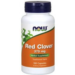 Now Foods Red Clover 375mg 100 kaps.