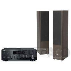 Yamaha MusicCast R-N602 (czarny), Pylon Audio Coral 25 (wenge)