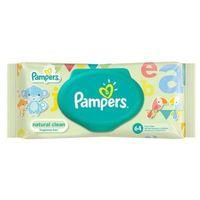 Chusteczki dla niemowląt, PAMPERS 64szt Natural Clean Chusteczki nawilżane dla niemowląt