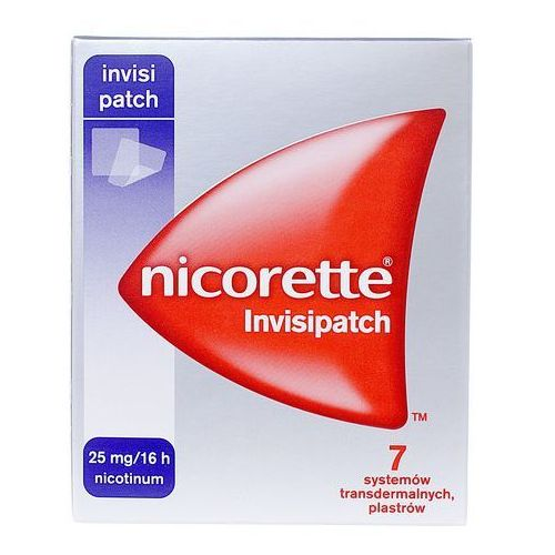 Plastry nikotynowe, Nicorette plastry Semi 25mg/16h x 7