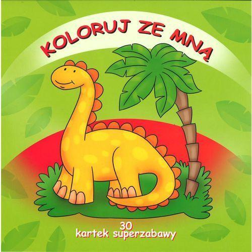 Książki dla dzieci, Koloruj ze mną. 30 kartek super zabawy. - Praca zbiorowa (opr. broszurowa)
