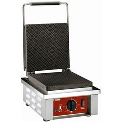 Elektryczna gofrownica do rożków do lodów   1600W   305x40x(H)230mm