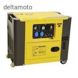 Generator prądowy 230 V, 6 KVA, diesel wyciszony