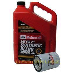 Oryginalny filtr oraz olej silnikowy Motorcraft 5W20 Mercury Monterey 2004-