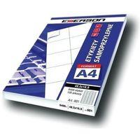 Etykiety biurowe, Etykiety 140 X 97,0 mm, 4 szt/A4 EMERSON uniwersalne (G) - X06643
