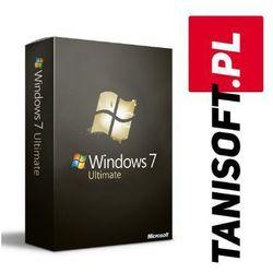 Windows 7 Ultimate Polska wersja językowa! / szybka wysyłka na e-mail / Faktura VAT / 32-64BIT / WYPRZEDAŻ