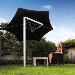 Parasol ogrodowy Paraflex Monoflex 270 cm z wysięgnikiem 185 cm i palem made in Belgium