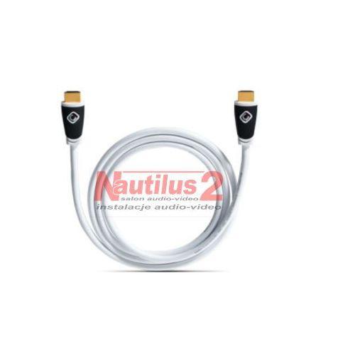 Kable video, Oehlbach HDMI biały 1.5m