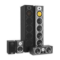 auna V9B Zestaw 5 kolumn z dźwiękiem surround 440 W RMS czarny