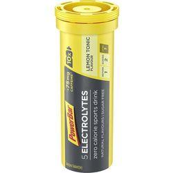PowerBar 5 Electrolytes Żywność dla sportowców smak cytrynowy z dodatkiem kofeiny 10 tabletek 2019 Drinki izotoniczne