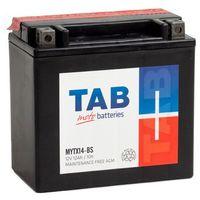 Akumulatory do motocykli, Akumulator motocyklowy TAB YTX14-BS (MYTX14-BS) 12V 12Ah 160A L+