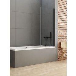 New Trendy parawan nawannowy New Soleo Black 70 cm, wys. 140 cm, szkło czyste 6 mm P-0039