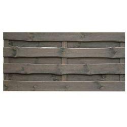 Płot szczelny 180x90 cm drewniany szary NEVADA WERTH-HOLZ