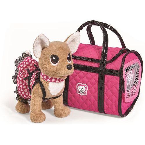 Pluszaki zwierzątka, ChiChi Love ChiChi Love piesek chihuahua Paris II z torbą