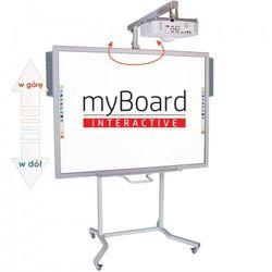 """Zestaw! Tablica interaktywna myBoard Silver 70""""C + Epson EB-680 + statyw VIS-RW50 ~70 + okablowanie 10 m (230V, HDMI) + głośniki AMP-32"""