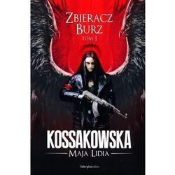 Zastępy Anielskie Zbieracz Burz tom 1 (opr. skórzana)