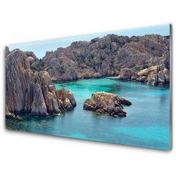 Panel Szklany Zatoka Skały Morze Krajobraz