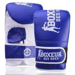Rękawice bokserskie BOXEUR BXT-5140 (rozmiar L) Niebieski