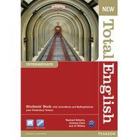 Książki do nauki języka, New Total English Intermediate Podręcznik + Active Book + MyEnglishLab (opr. miękka)