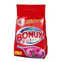 Proszki do prania, Bonux Automat - Fresh 2in1 Color - Magnolia & Spring Flowers - Natura Happy - proszek - 50 prań - 5 kg