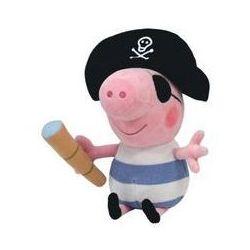Świnka Peppa George Pirat pluszowy 25 cm. Darmowy odbiór w niemal 100 księgarniach!