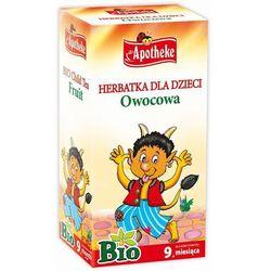Apotheke BIO Herbatka dla dzieci owocowa, 20 torebek