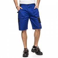 Kombinezony i spodnie robocze, Spodnie do pasa krótkie HELIOS AVACORE w kolorze niebiesko-czarnym