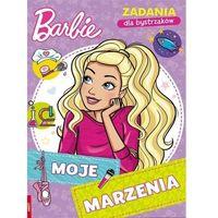 Książki dla dzieci, Barbie zadania dla bystrzaków moje marzenia nat-1103 (opr. miękka)