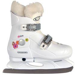 Dziecięce łyżwy regulowane WORKER Kira - Rozmiar L (37-40)